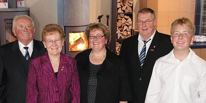 Berthold Trefzger, Hildegard Trefzger, Kornelia Müller, Wolfgang Müller und Maximilian Müller (von links).  Foto: hrvoje miloslavic